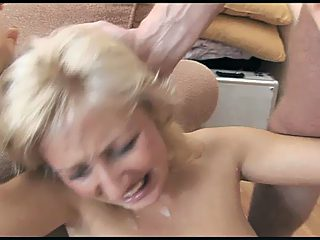 Raped mature gave slap on back