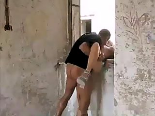Brutal rape in abandoned building