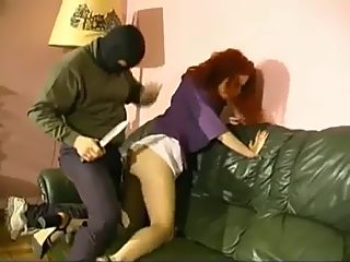 Man with knife forced woman to take off her panties and do blowjob