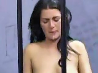 Rape imprisoned female with face cum