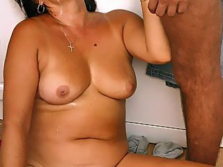 Top class incest scene in HQ pics  swarthy mama rides her sons meat