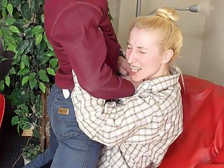 Hot mature mom gets abused by a first son