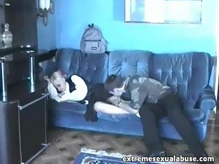Lovely blonde schoolgirl gets shagged by an aged violator