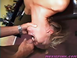 Girl has to give the roughest blowjob ever