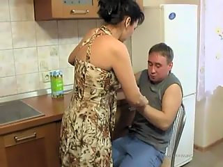 Mature hottie with awesome massive moneymaker gets wild incest treatment