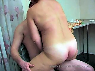 A steamy high quality mature sex vid from the members of big incest family