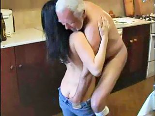 Loony granddad abuse pretty granddaughter